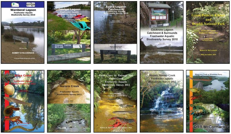Gosford LGA Aquatic Survey Reports