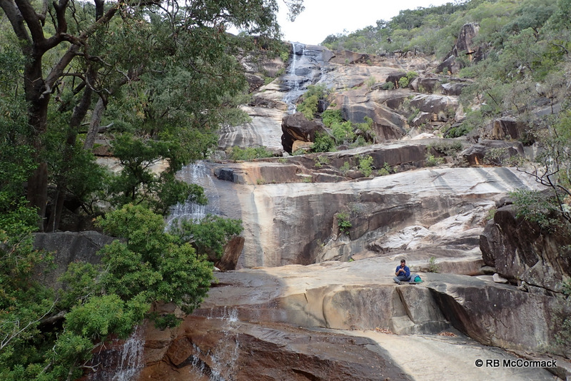 The base of the Falls, Alligator Creek