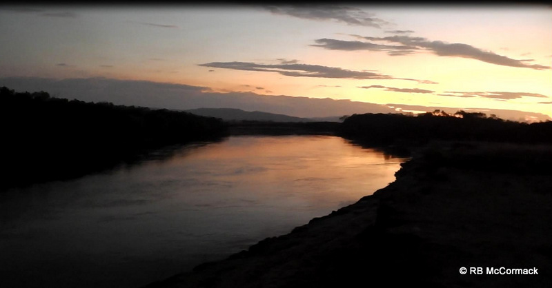 Cocoa Creek, Townsville, just on dusk